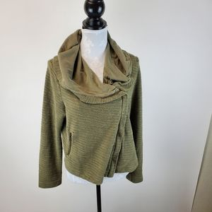 Anthropologie Saturday Sunday Shawl Moto Jacket
